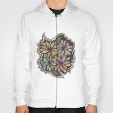 Floral Collage Hoody