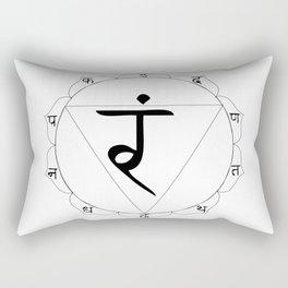 Manipura or manipuraka Rectangular Pillow