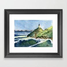 Peaceful Lighthouse V Framed Art Print