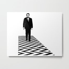 Special Agent Dale Cooper Metal Print