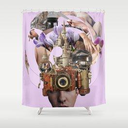 Desire Machines Shower Curtain