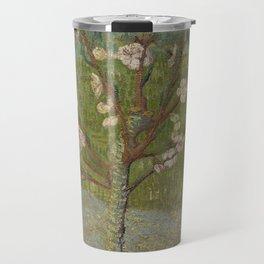 Almond Tree in Blossom Travel Mug