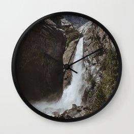 Yosemite Lower Falls Wall Clock