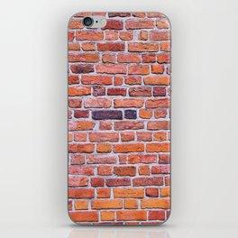 Red Bricks iPhone Skin