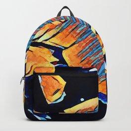 Hot Lava ~ Fox Backpack