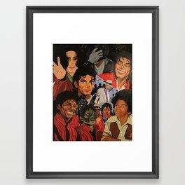 MoonWalker Framed Art Print