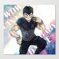 dbz Canvas Prints featuring + DBZ - Seungri + by MitsuBlinger