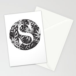 S Monogram Stationery Cards