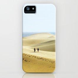 Maspalomas Beach, Gran Canaria. iPhone Case