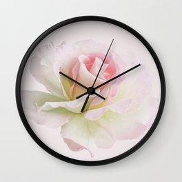 Pinkish rose delight Wall Clock
