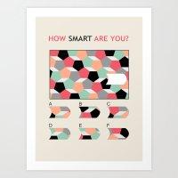 Bequiz Test 03 Art Print