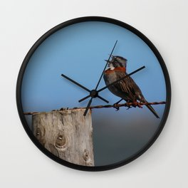 Singing out loud!! Wall Clock