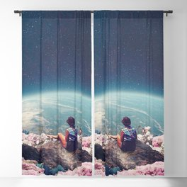 My World Blossomed when I Loved You Blackout Curtain