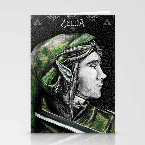 Legend of Zelda - Link The Proud Hylian.  Stationery Cards