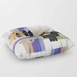 Istanbul aka Constantinopolis Floor Pillow