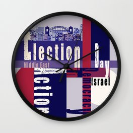 Election Day 4 Wall Clock