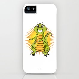 Trends Exercise Movement Flossing Gift Floss Dance Move T-Rex iPhone Case