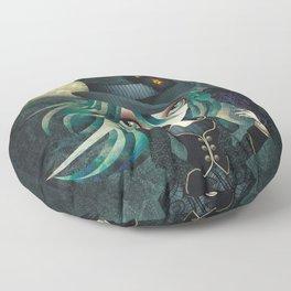 Raven's Moon Floor Pillow