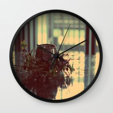 Candle Holder Wall Clock