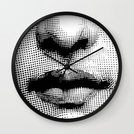 Lina Cavalieri - nose and mouth Wall Clock