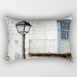 Old Town Antibes Ambiance Rectangular Pillow