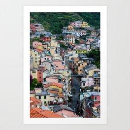 The Beautiful Riomaggiore Art Print