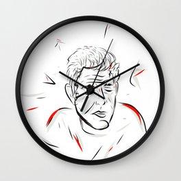 Bourdain Wall Clock