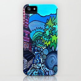 MILL ON THE RIVER iPhone Case