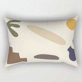 Shapes 1 - Africa collection Rectangular Pillow