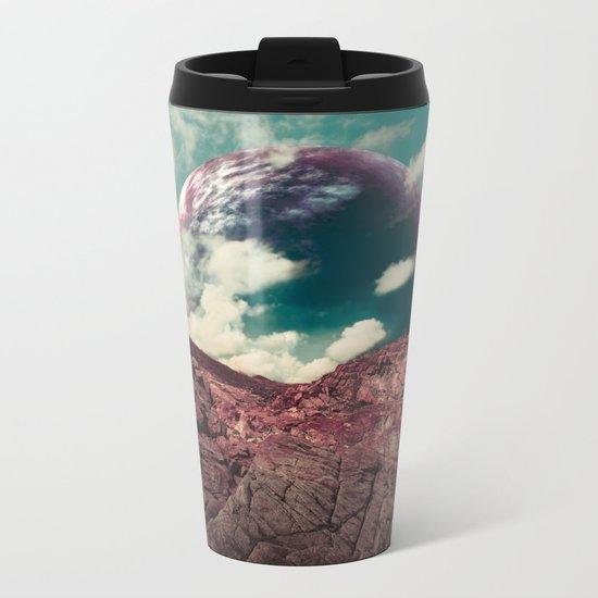 Red Spirit Metal Travel Mug