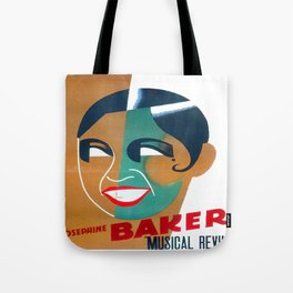 Josephine Baker Vintage Poster for Stockholm Tote Bag
