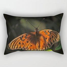 Shaded Fritillary Butterfly Rectangular Pillow