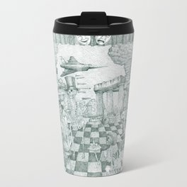 Don't Worry Be Happy 3 (Who Forgets The Past Is Condemned To Repeat It) Travel Mug