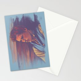 Marius at the barricades Stationery Cards