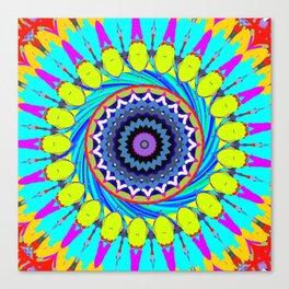 Wheel of Wonder Canvas Print