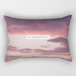 CLOUDS. Rectangular Pillow