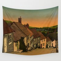 postcard Wall Tapestries featuring Daybreak by Megs stuff...