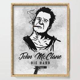 Die Hard John McClane Serving Tray