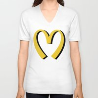moschino V-neck T-shirts featuring McDonald's MOSCHINO by RickyRicardo787