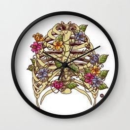 Rib Bloom Wall Clock
