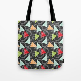 Worms and Triangles Tote Bag