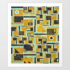 Levels Art Print