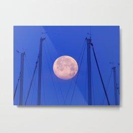 The Big Moon Metal Print