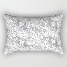 Love Bunnies Rectangular Pillow