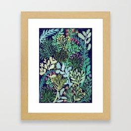 Botanical Glow Framed Art Print