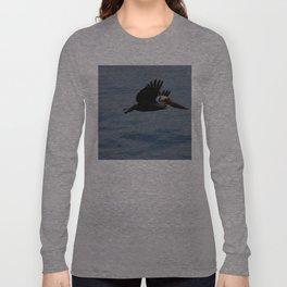 Pelican Blue Long Sleeve T-shirt