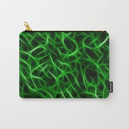 Camouflage Psychedelic Green Carry-All Pouch