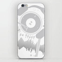 Funny_Record iPhone Skin