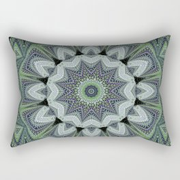 Reflecting Pattern Mandala 2 Rectangular Pillow