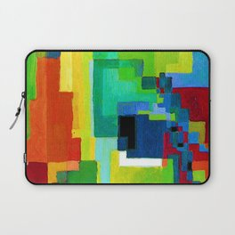 August Macke Colored Forms II Laptop Sleeve